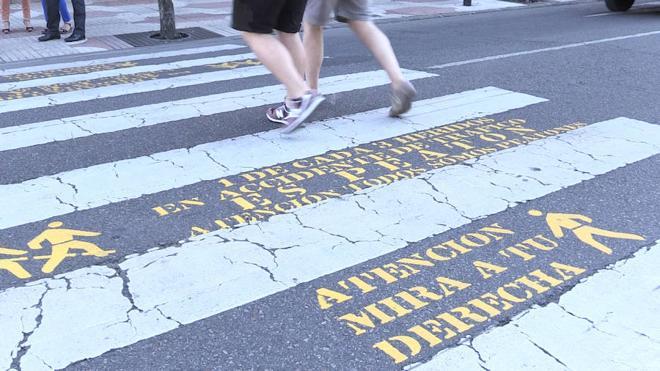 Uno de cada tres heridos en accidente de circulación en la capital es peatón