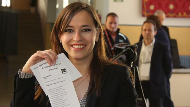 Gemma Villarroel, nueva sudelegada provincial de Ciudadanos