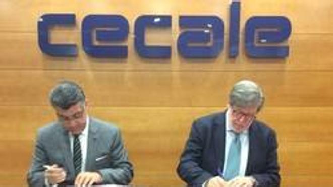 Cecale firma un acuerdo de colaboración con la Cámara de Comercio Hispana de EEUU para fomentar los intercambios comerciales