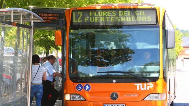 Ponferrada descarta municipalizar el TUP y destaca los costes de crear una empresa municipal de transporte