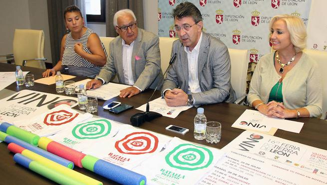 Valencia de Don Juan celebra su XVI Feria del Vino, que reunirá a cerca de 30.000 personas