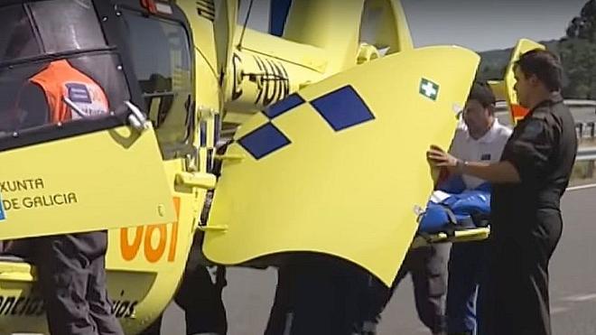 Fallece un motorista ponferradino de 39 años tras sufrir una salida de vía en A Rúa