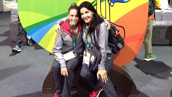 Carolina ya se prueba en Río