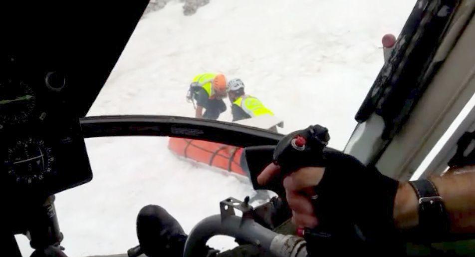 Fallece un montañero al despeñarse unos doscientos metros en Cabrales