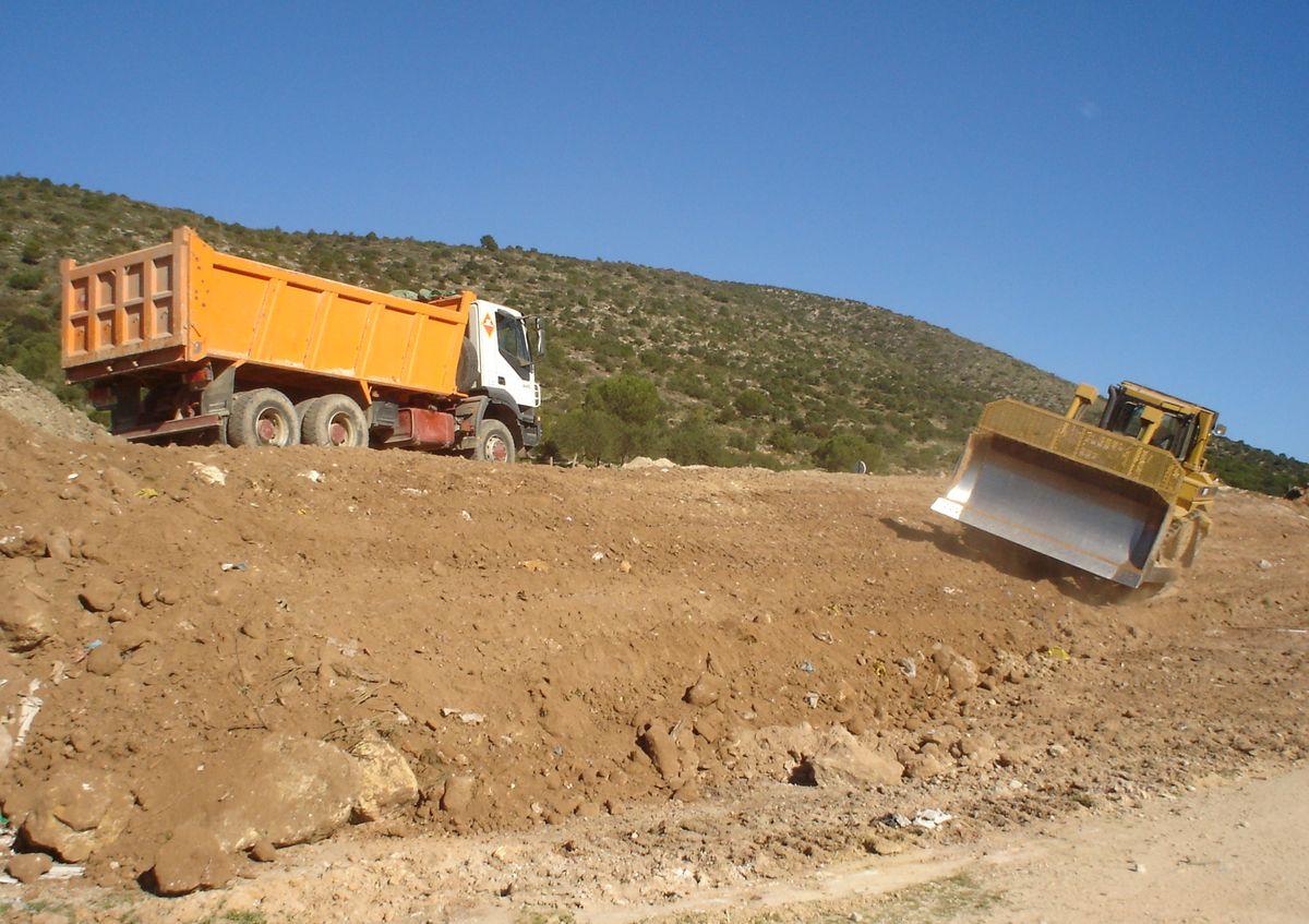 Medio Ambiente se da un año para completar el sellado de los cuatro últimos vertederos de la provincia