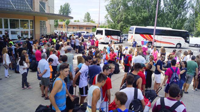 El campus 'Pienso en Basket' conquista Cangas de Narcea con más de 150 participantes