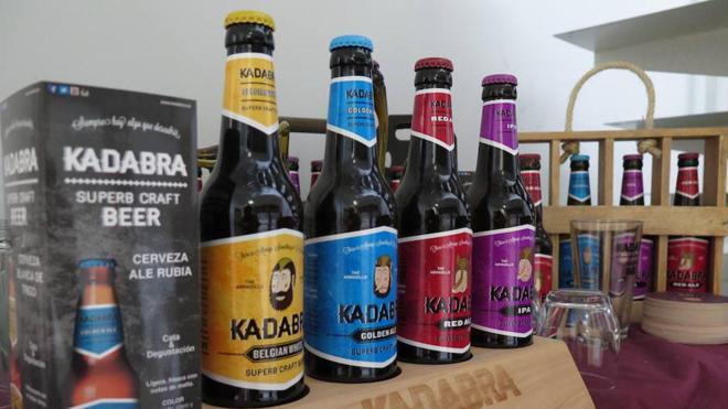 Cerveza Kadabra aumenta un 114 por ciento su producción respecto al año 2015