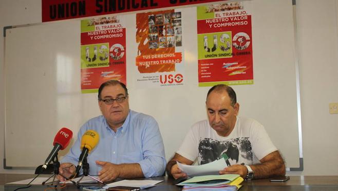 USO amenaza con una huelga y denuncia que «los ciudadanos pagan los errores de los políticos con sus impuestos»