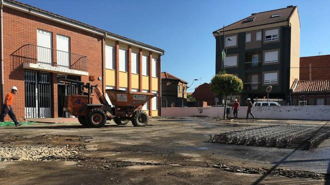 San Andrés acondiciona los patios del colegio Trepalio para mejorar las condiciones de seguridad