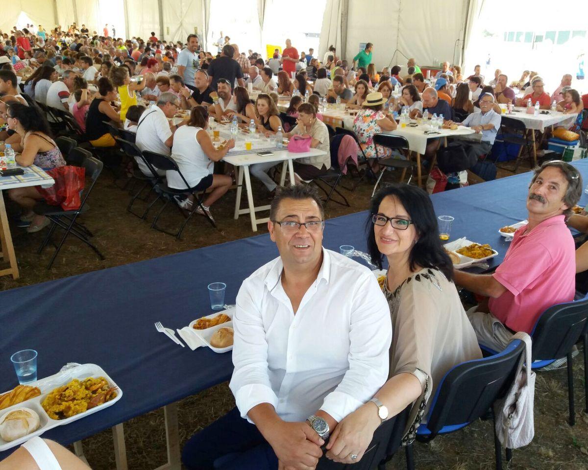 A la rica paella en Santovenia de la Valdocina