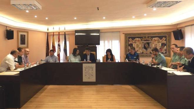 Valencia de Don Juan prepara la seguridad de las Fiestas Patronales