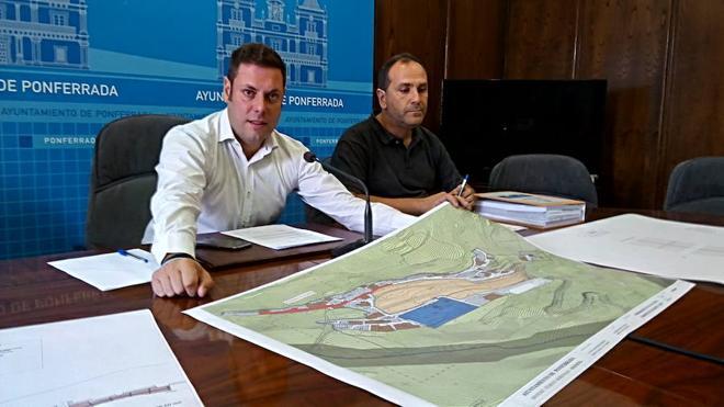 """Ponferrada """"hace justicia"""" con Montes y anuncia una segunda fase de obras para acabar con el barro en las calles por 94.000 euros"""