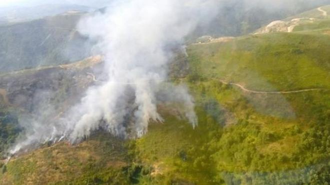 La Junta instalará cámaras de vigilancia en Las Médulas y en el monte Pajariel para luchar contra la «lacra» de los incendios en el Bierzo