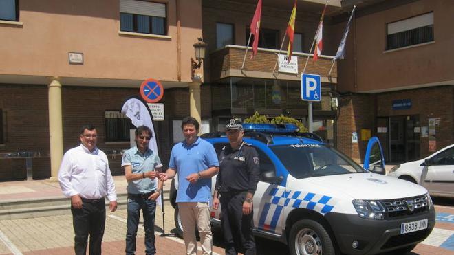 La policía local de Villaquilambre incorpora un nuevo vehículo a su flota