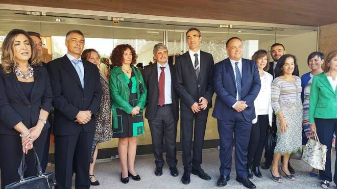 El rector de la ULE destaca las ciencias de la salud y los recursos naturales como objetivos de desarrollo en el Campus del Bierzo