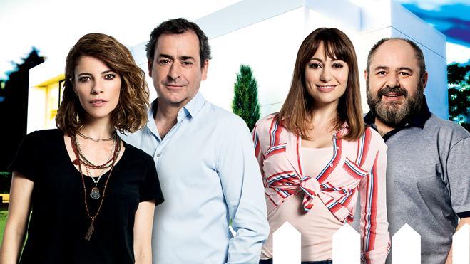 Maribel Verdú, Jorge Bosch y Natalia Verbeke protagonizan 'Invisible', una sátira de las relaciones