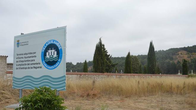 El Ayuntamiento adquiere tres parcelas para la ampliación del cementerio de Villaobispo