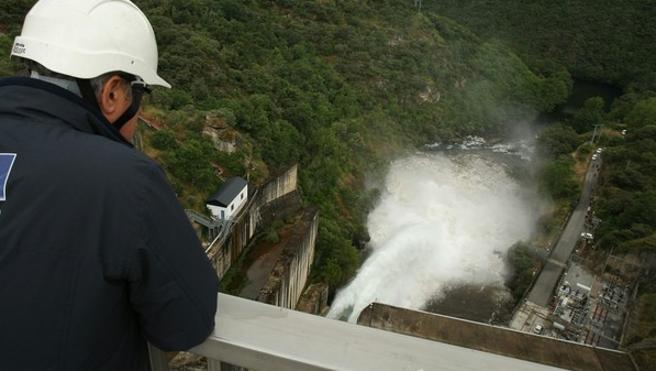 Confederación licita por 1,3 millones el proyecto de estabilización de desprendimientos en la presa de Bárcena