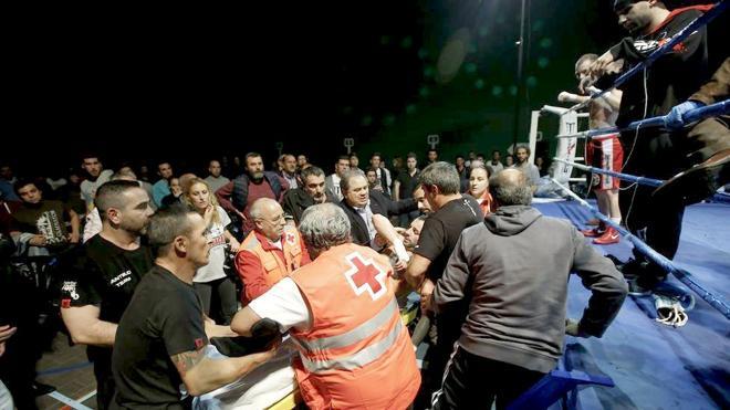 La imágenes del duro castigo a Saúl Tejada