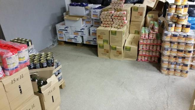 Villaquilambre reparte cerca de 5.500 kilos de alimentos entre las familias más necesitadas