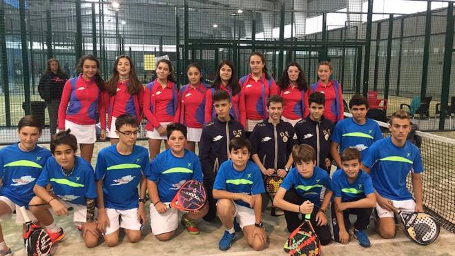 El Tenis5Padel Júnior triunfa en Ávila
