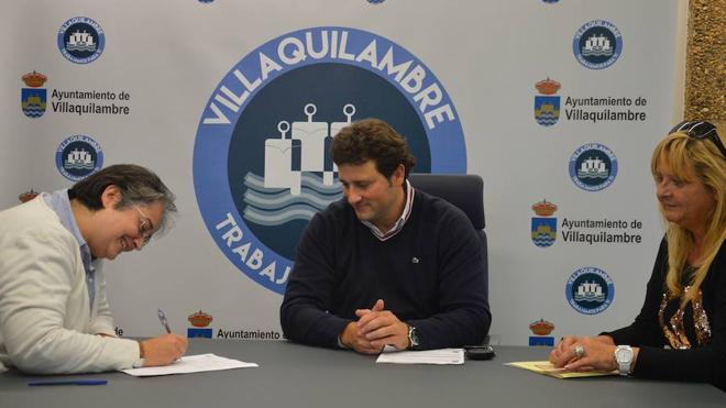 Villaquilambre y la Asociación Valponasca sellan su colaboración