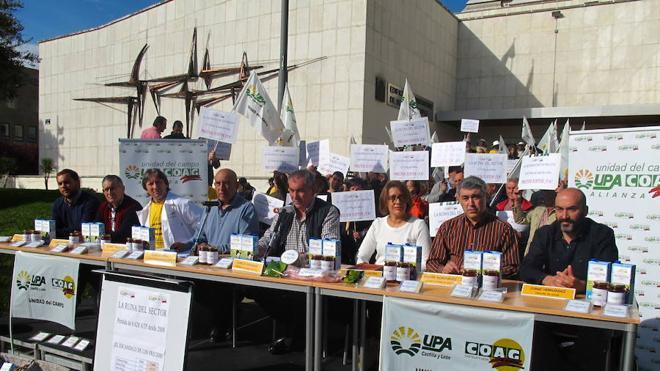La Alianza UPA-COAG cifra en 844 millones las pérdidas de los agricultores y ganaderos de Castilla y León por la «ruina de precios»