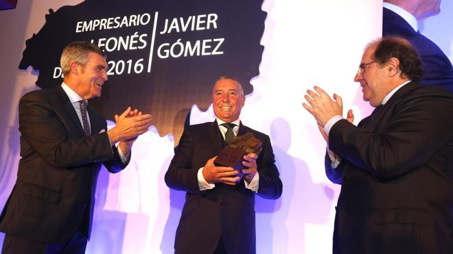 Javi 'Camarote', empresario del año por la humildad y el carácter social extendido por todo León