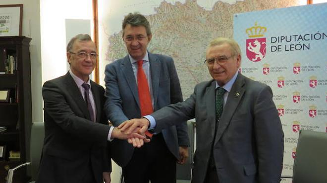 La Diputación firma convenios con Asprona, Donantes de Sangre y Secretariado Gitano por 46.000 euros