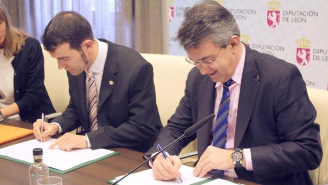 La Diputación aportará 121.000 euros a dos proyectos de la ULE a través del Inbiotec