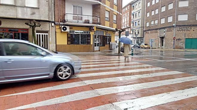 Ponferrada instalará pasos de peatones elevados en varias calles de la ciudad para poner freno a los atropellos de peatones