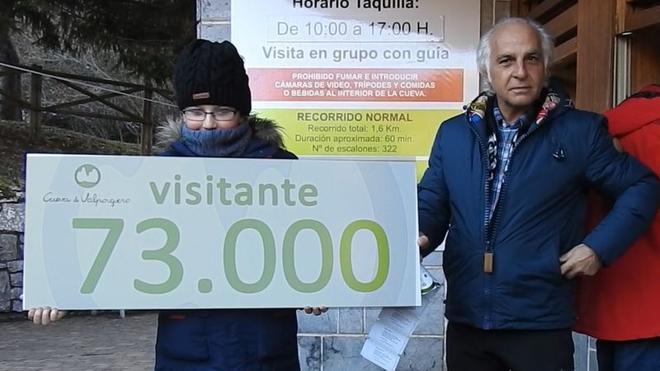 El visitante 73.000 de Valporquero