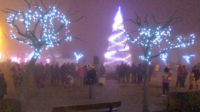 Color y luz para la Navidad de Villarejo de Órbigo