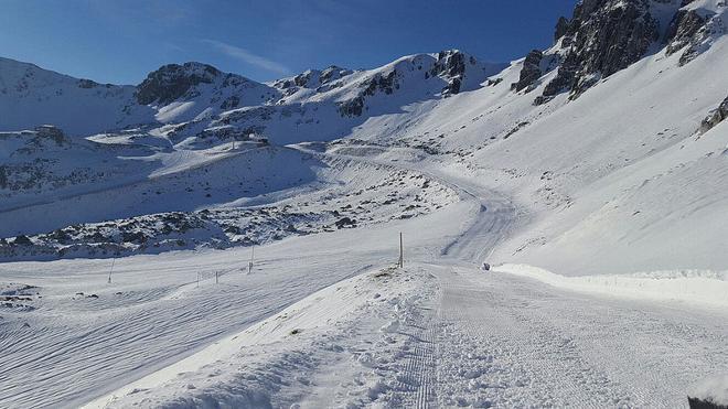 León vive sus terceras navidades de la última década sin nieve en las estaciones de esquí