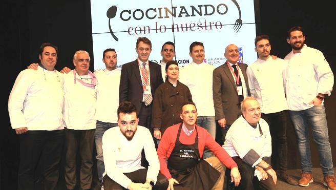 León y Valladolid cocinan en Fitur para poner en valor los productos de calidad de ambas provincias
