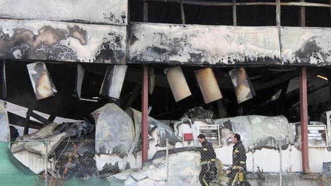 La Junta declara el incendio de Iberavi como de «extraordinaria trascendencia y urgente actuación»