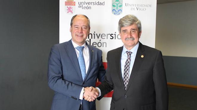 Las Universidades de León y Vigo acuerdan una alianza estratégica de colaboración