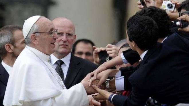 El Papa recibe a los alumnos del Peñacorada