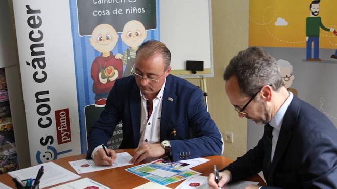 Fundación Alimerka y PYFANO se unen en la lucha contra el cáncer infantil