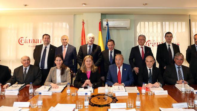Del Olmo destaca la creación de la Cámara de Castilla y León como interlocutor único de las 14 instituciones camerales de la Comunidad