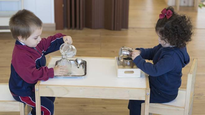 Peñacorada amplia a todo Infantil el 'método Montessori'