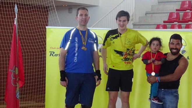 El Club de Patinaje León, subcampeón autonómico de freestyle