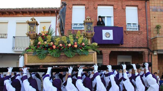 Protagonismo de Ecce Homo y saetas este Jueves Santo en Santa Marina del Rey