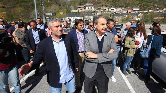Zapatero anuncia una «movilización de alcaldes y parlamentarios» para recuperar el contenido del proyecto de Ciuden