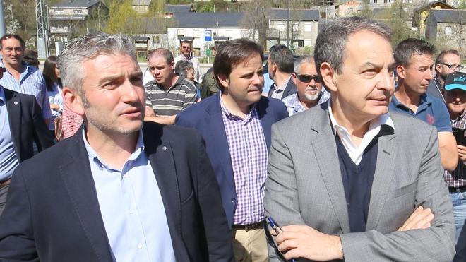 Zapatero regresa de nuevo a León para visitar Villablino, Fabero y Ponferrada