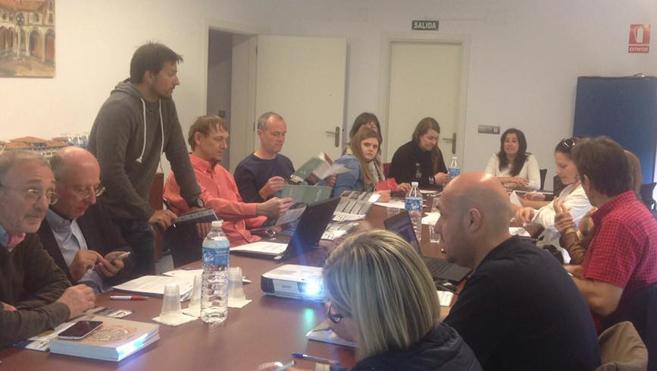 Una treintena de técnicos europeos se reúnen en La Pola de Gordón dentro del Proyecto Erasmus Plus 'Rurality'