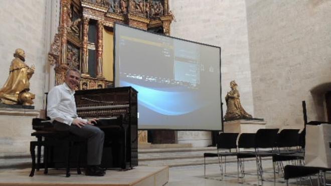 Cine mudo con piano en directo